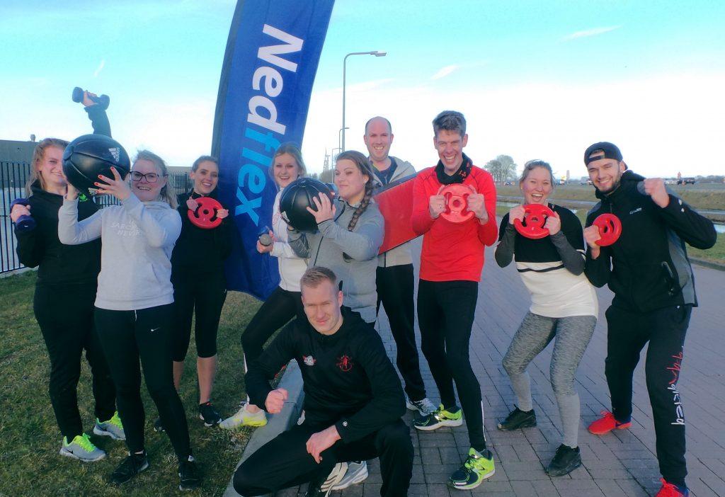 bootcamp sporten personeel Nedflex