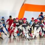 Debuut Nedflex schaatsteam