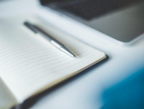 Nieuws Pen op schrift