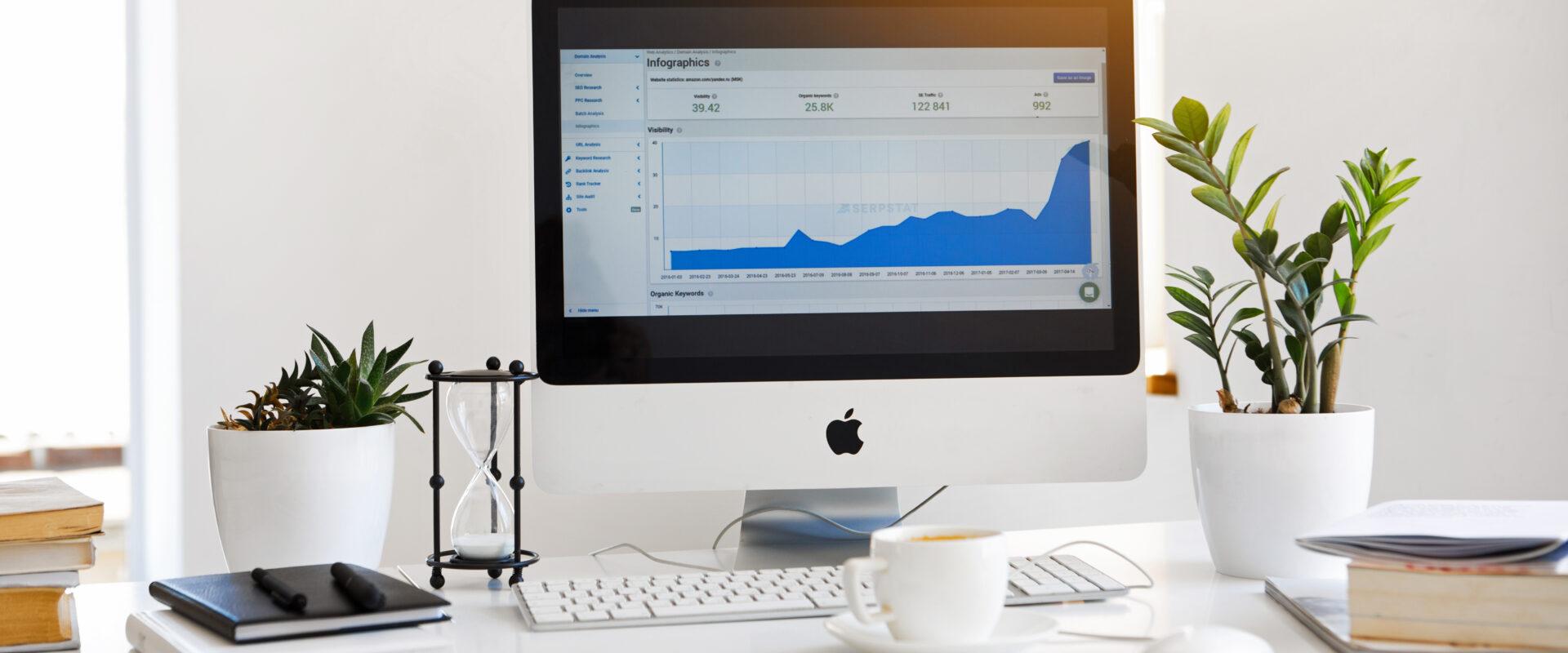 Desktop grafiek Indeed
