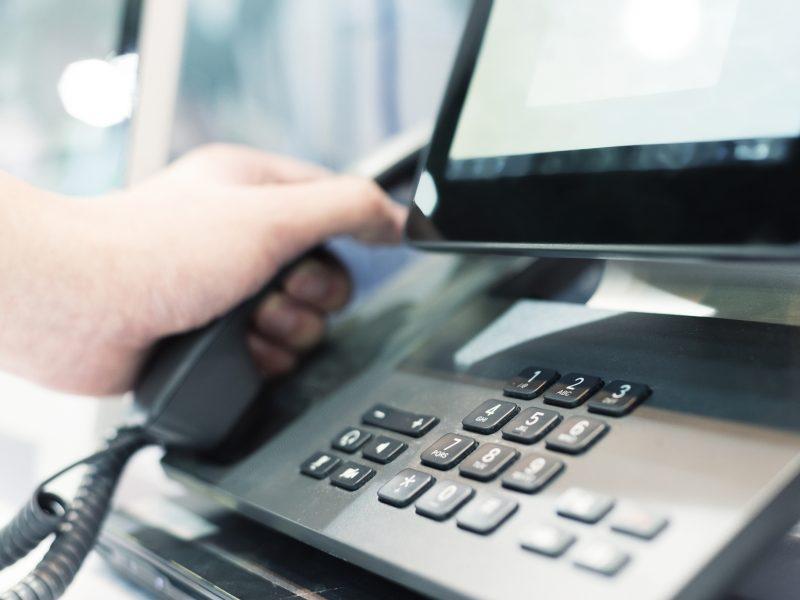Service center - telefoon
