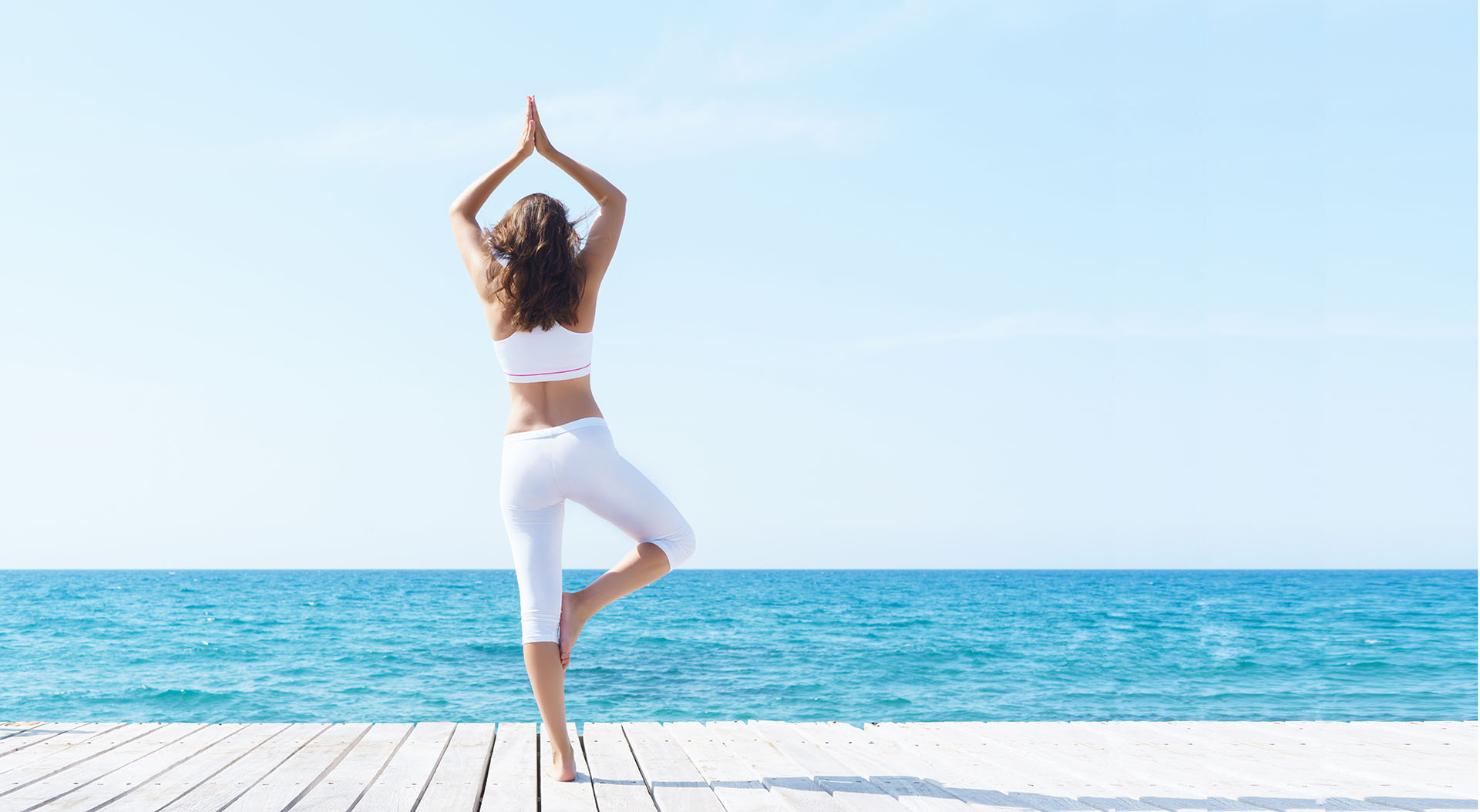 Yoga op de kade