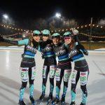 Nedflex schaatsteam sluit sterk seizoen af in Amsterdam