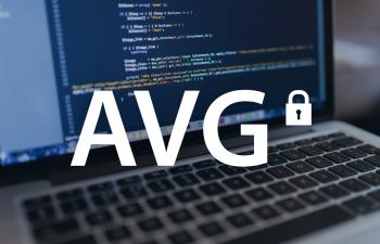 AVG laptop beeld