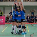 US Amsterdam Dames 1 knokt hard tijdens debuut in de Eredivisie