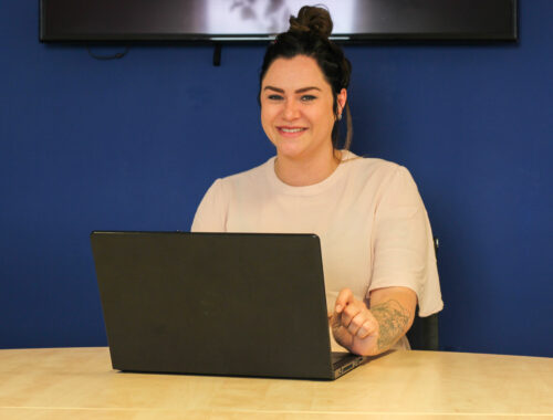 vrouw laptop diversiteit