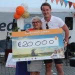 Nedflex & Bake for Life Sponsorloop brengt €20.000 op