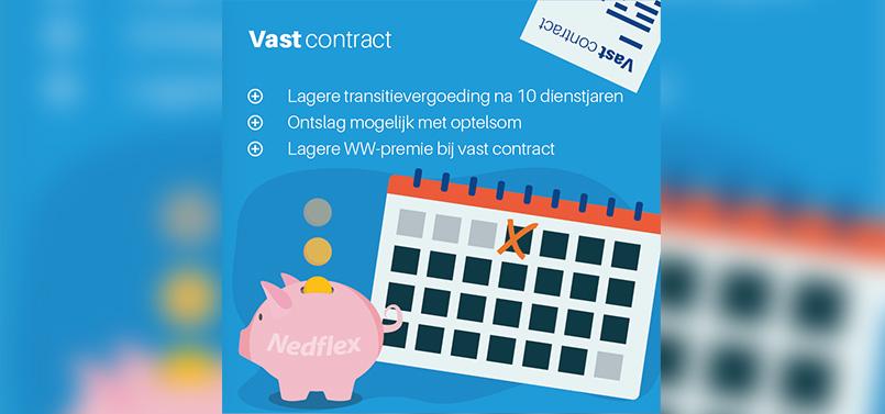 Wet Arbeidsmarkt in Balans: vast contract
