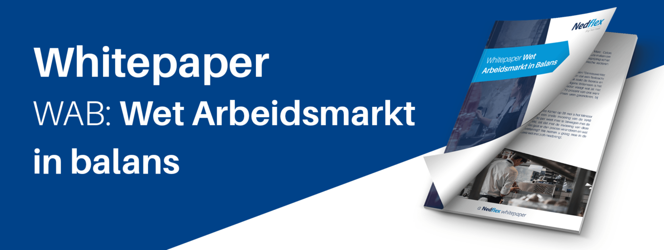 Whitepaper Wet Arbeidsmarkt in Balans