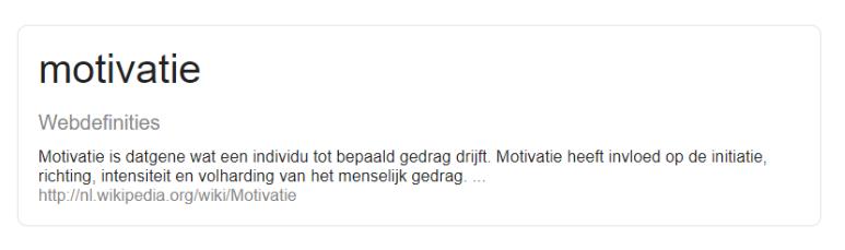 motivatiebrief